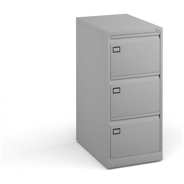Three Drawer Steel Deluxe