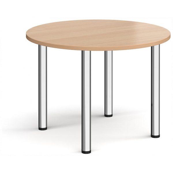 Circular Radial Leg Table