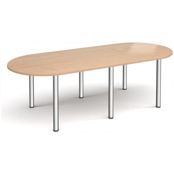 Radial End Boardroom Table