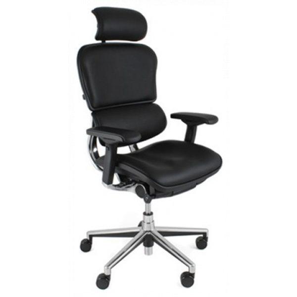 Ergohuman Plus Elite – Leather Seat with Leather Back