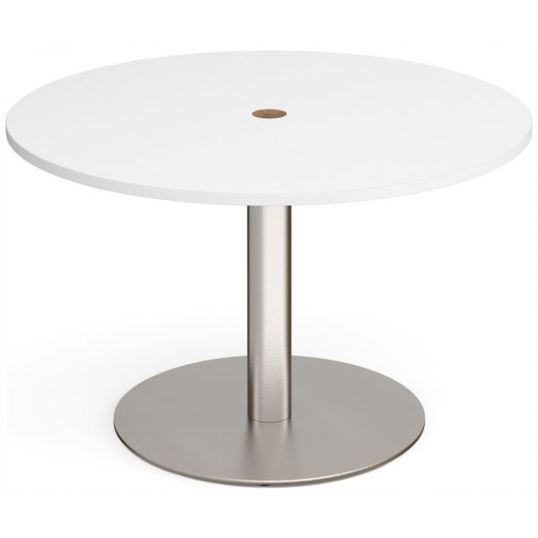 Eternal Circular Boardroom Table with Cut Out