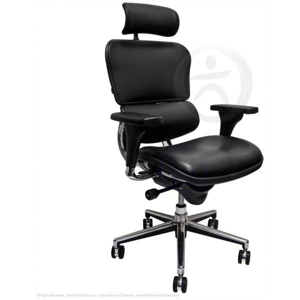 Ergohuman Plus Luxury – Leather Seat with Leather Back
