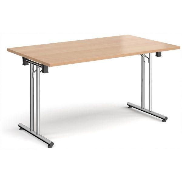 Straight Folding Leg Table