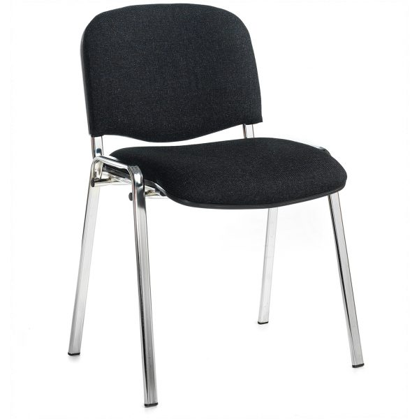 HMC1 – Charcoal Chrome Meeting Chair