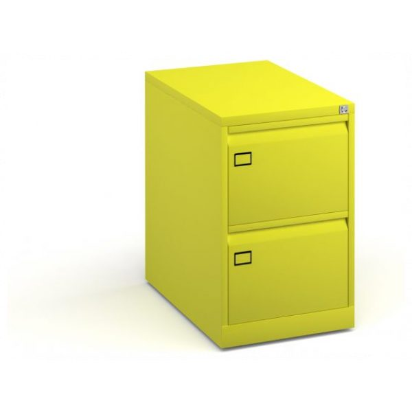 Two Drawer Steel Executive