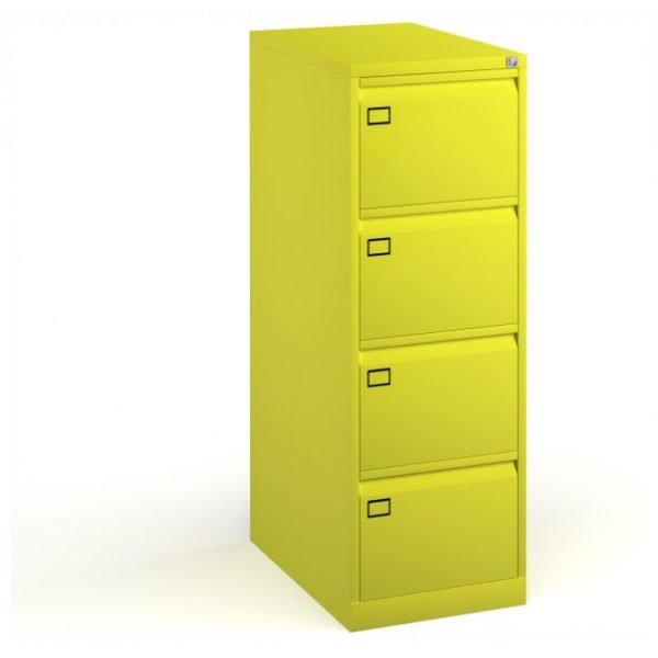 Four Drawer Steel Executive